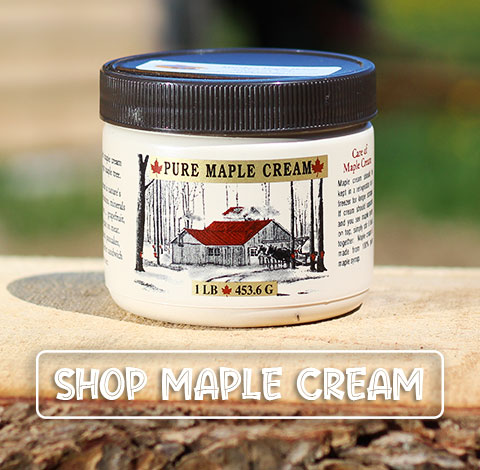 SHOP ALL MAPLE CREAM PRODUCTS