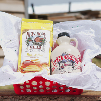 Maple Syrup Gift Baskets from NY