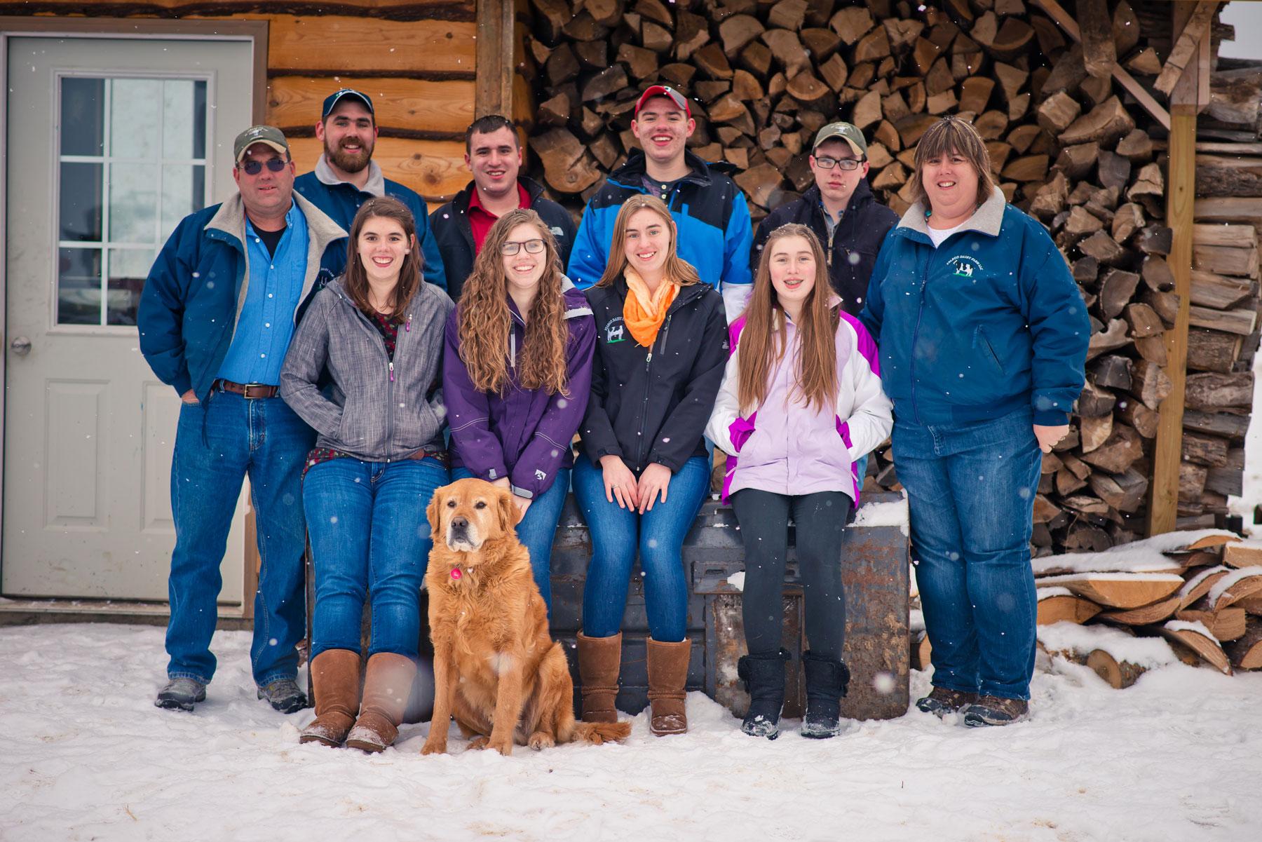 Marsha's Maple House Family