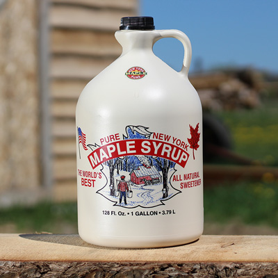 One Gallon of Pure Maple Syrup