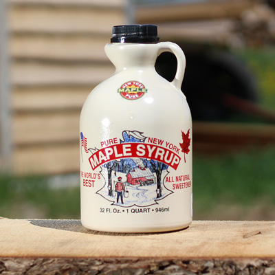 One Quart of Pure Maple Syrup