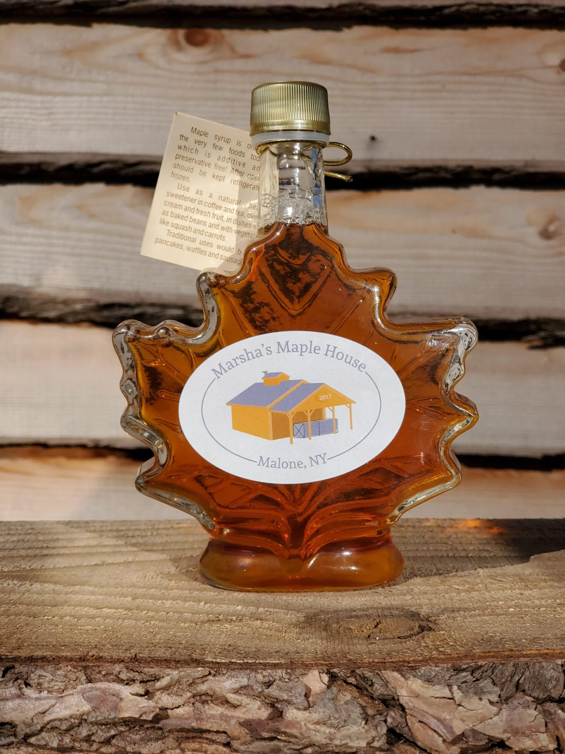 Maple Syrup - Glass Bottle