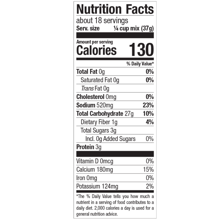 blueberry-pancake-waffle-mix-nutrition-facts