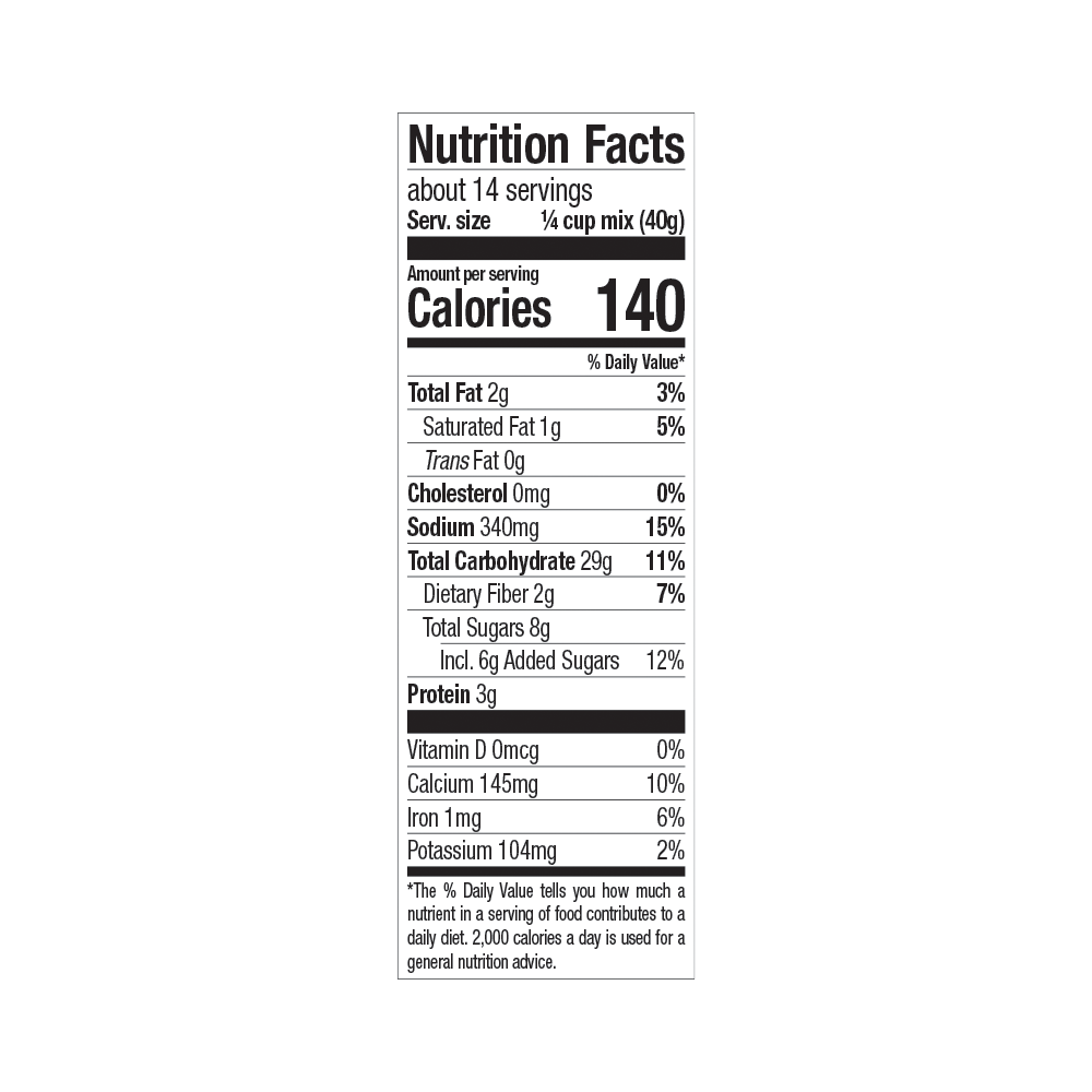 new-hope-mills-chocolate-chip-nutrition
